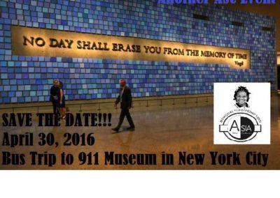 ASC Bus Trip 911 Museum April 2016