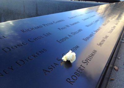 Asia Cottom 911 Memorial