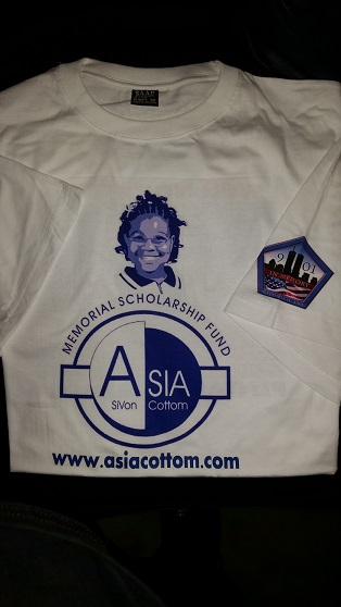 Asia Cottom Scholarship Fund T-Shirt Front