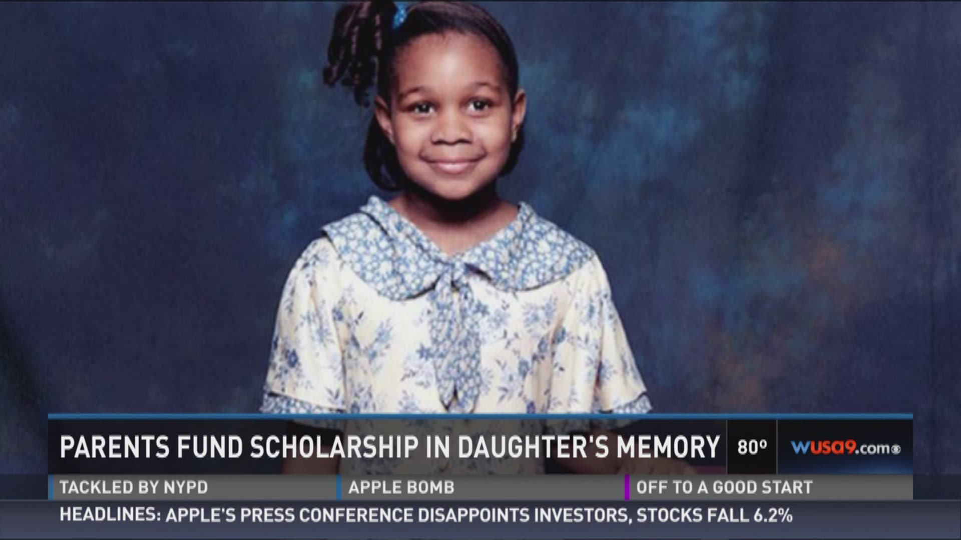 Parents Fund Scholarship In Daughter's Memory 2015